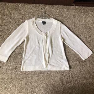 White shrug/cardigan